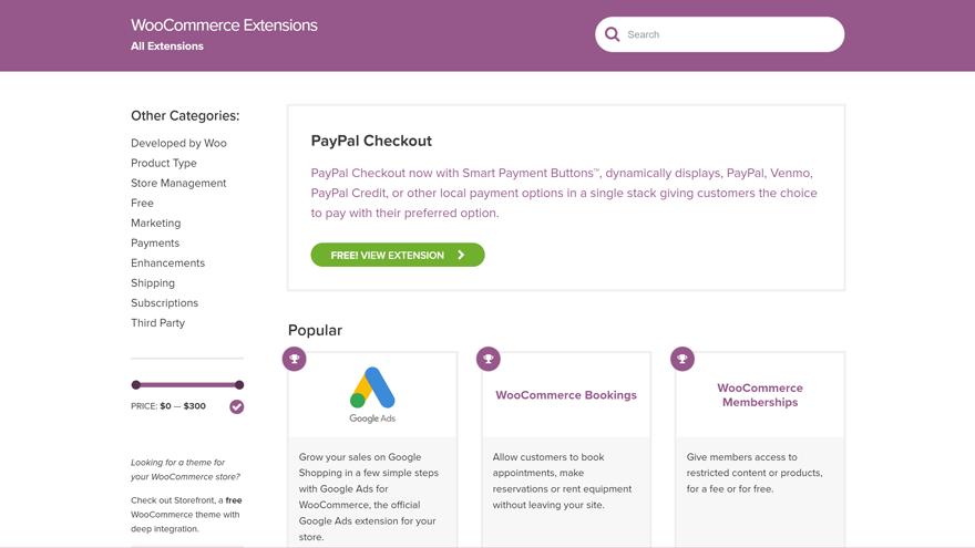 Расширения и плагины для WooCommerce
