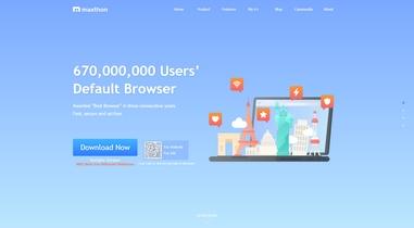 Maxthon – китайский браузер для Windows