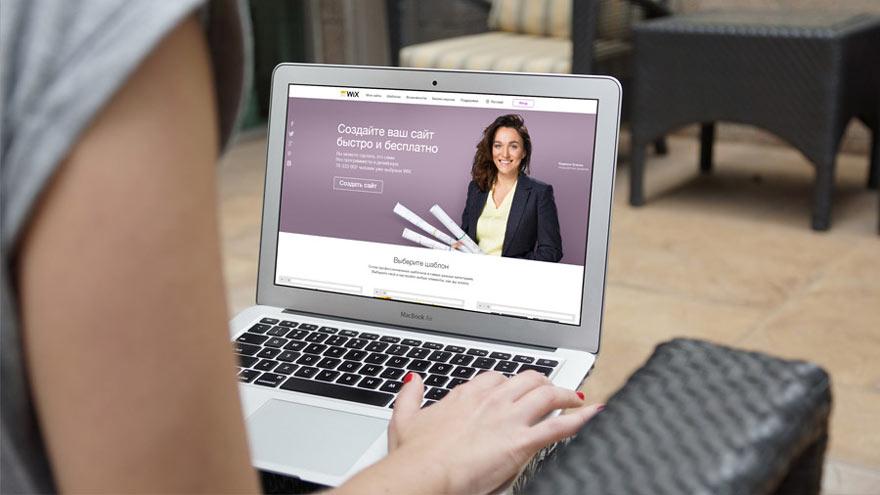 Wix - привлекательный сайт-конструктор для творческих людей