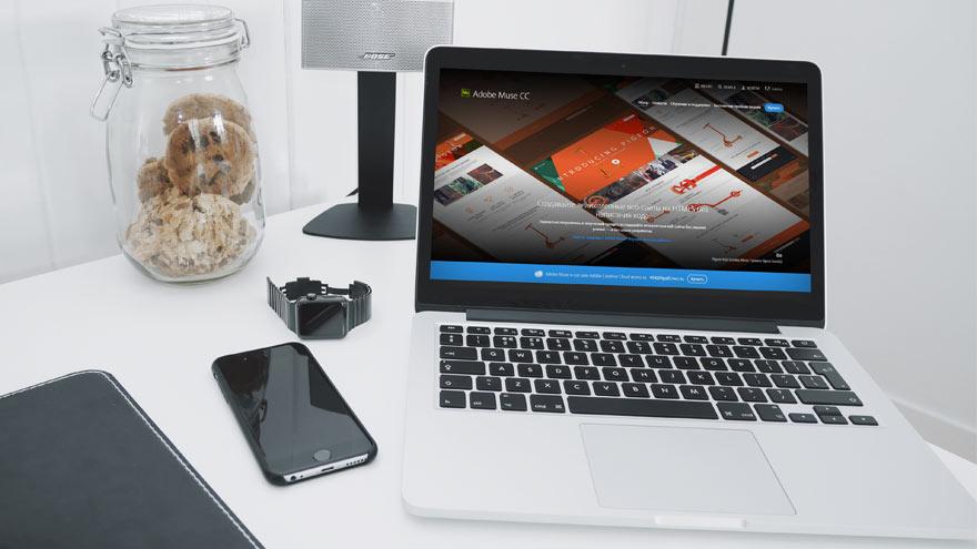 Adobe muse программа для создания сайтов
